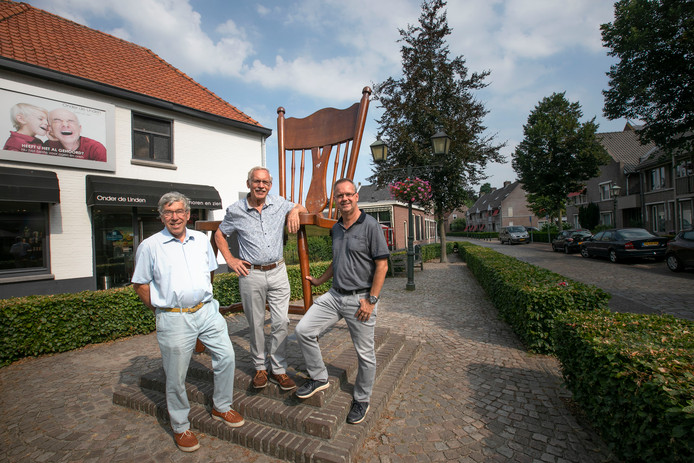 vlnr: Hans van Leuven, Just Nuyens en Piet-Hein Meeuwis.