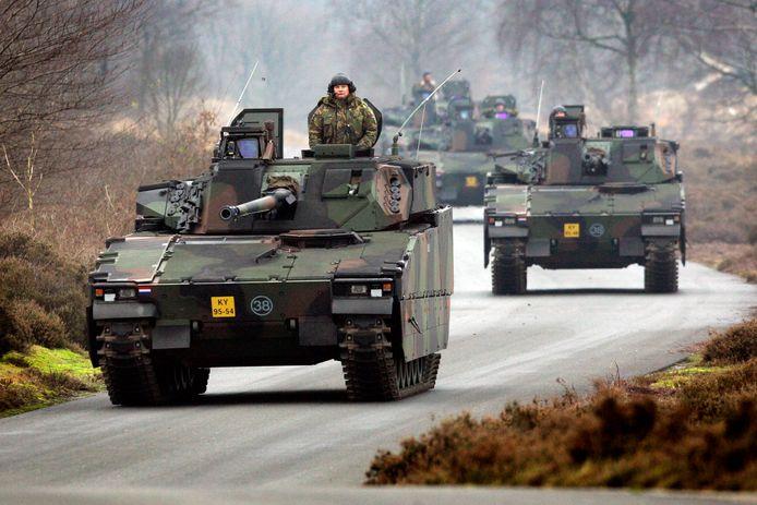 De CV90 krijgt een grote opknapbeurt en wordt uitgerust met raketschild.