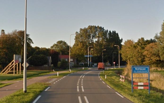 Kloosterweg in Noordgouwe.