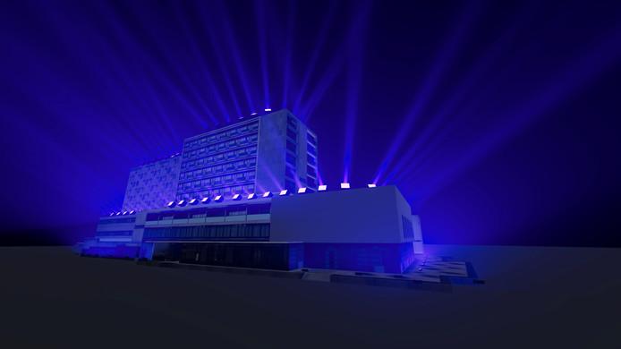 Glow _ Project Finse kunstenaar Kari Kola op Pullmanhotel Glow 2018.