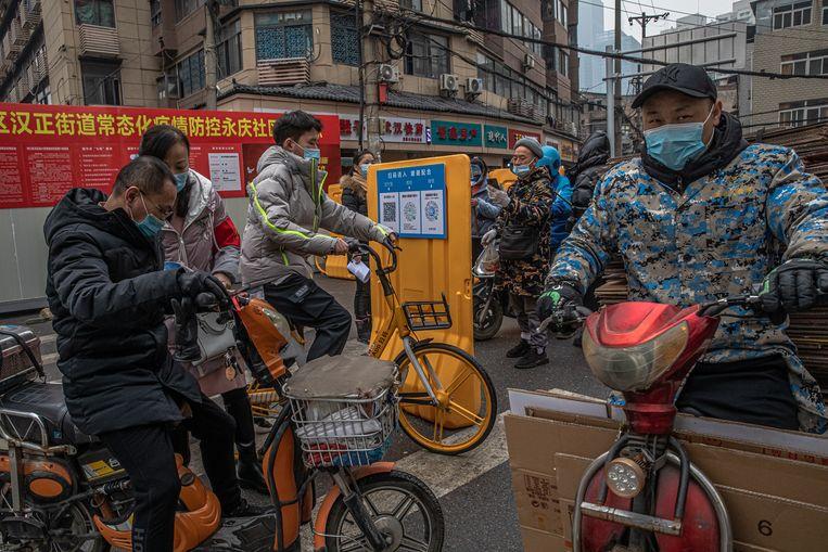 Wuhan. Beeld EPA