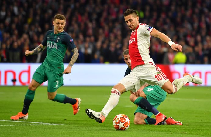 Ajax speelde in 2019 in de halve finales van de Champions League tegen Tottenham Hotspur. Worden de clubs uit Amsterdam en Londen vanmiddag weer aan elkaar gekoppeld?