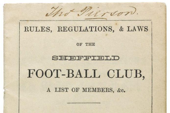 SHEFFIELD FOOTBALL CLUB