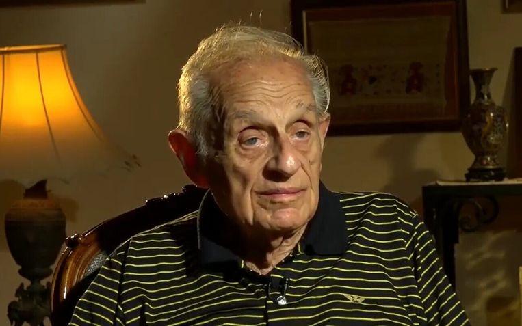 Albert Arie werd in 1930 geboren in Caïro, waar hij ook overleed, op 15 april 2021. Beeld Facebook