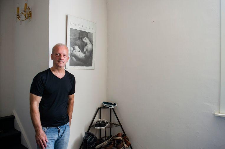 Dief aan de haal met kunstwerk dat tegen de muur hing bij Wilfried De Winter