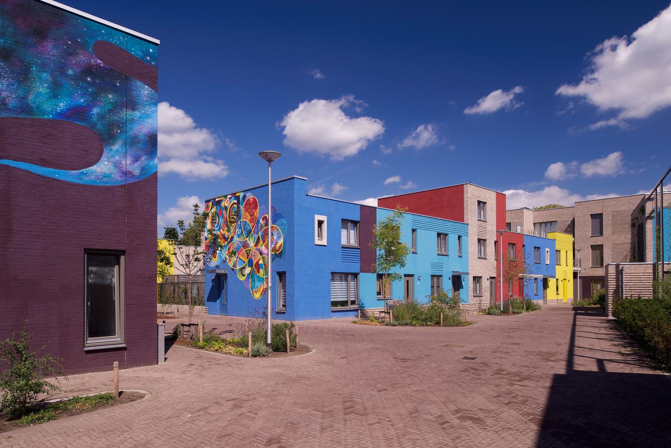 Woonwijk Celsius Woensel-West Eindhoven, genomineerd voor de Dirk Roosenburgprijs 2019.