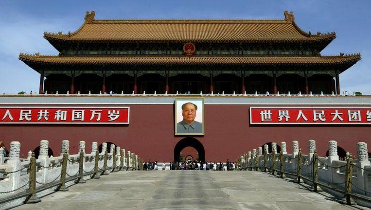 Het Plein van de Hemelse Vrede in Peking zal het centrum zijn van de vieringen. Om het feestvlekkeloos te laten verlopen, moeten alle media de hoeveelheid negatief binnenlands nieuws en de populaire roddelrubrieken terugbrengen tot een 'bescheiden niveau'. Foto ANP Beeld