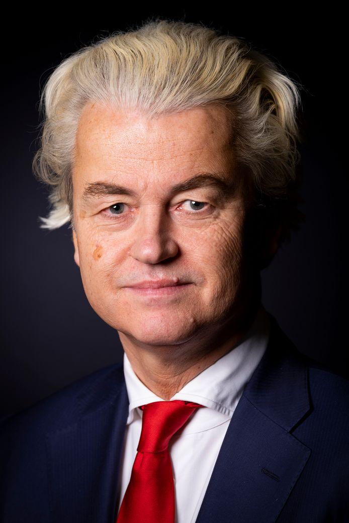 Nederland, Den Haag, 21022019 - Portret Geert Wilders (PVV)Foto: David van Dam