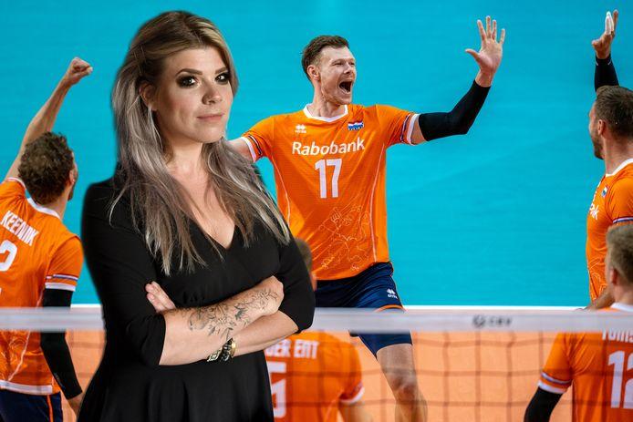 -'Ik weet nog dat ik volleybalde, heerlijk, dat samen-gevoel.'