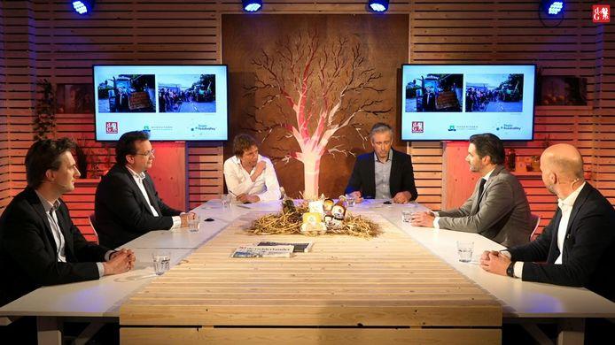 De Wageningen University & Research, Regio Foodvalley en De Gelderlander houden op woensdag 24 februari een nationaal verkiezingsdebat over landbouw, natuur en voedsel.
