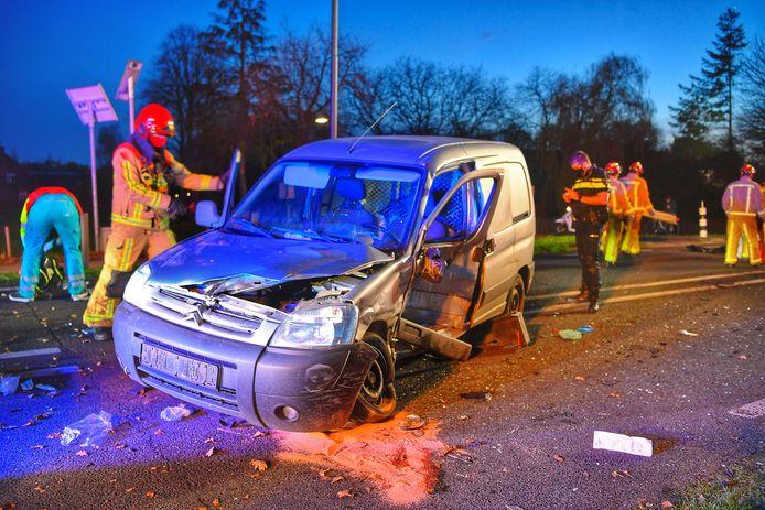 Ernstig ongeval in Bladel
