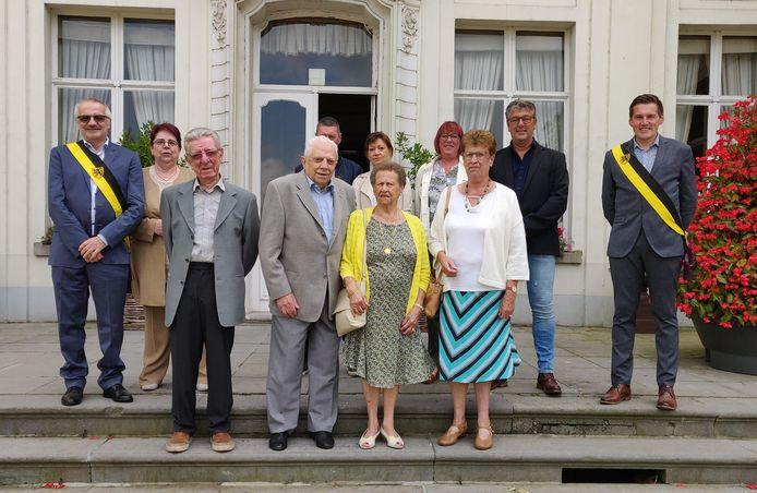 De familie Huyghe uit Rieme.