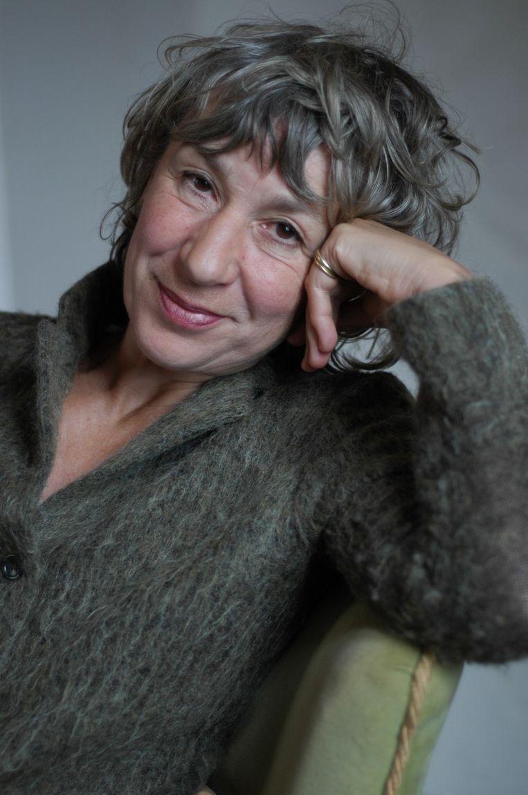 Julia Blackburn. Beeld Fiona Makkink