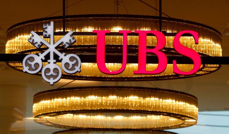 Het logo van de Zwitserse bank UBS. Beeld REUTERS