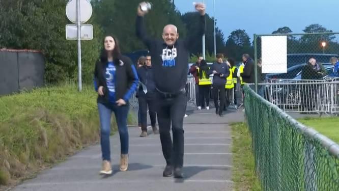 Sprintje trekken om aftrap te halen: Brugse fans moeten zich door fileleed haasten om tijdig op Jan Breydel te geraken
