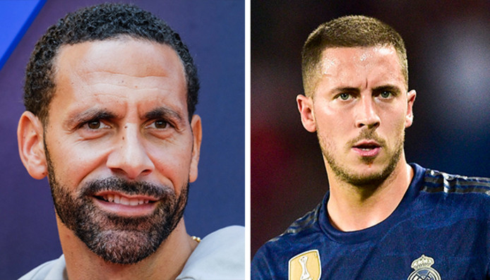 Rio Ferdinand critique à l'encontre d'Eden Hazard
