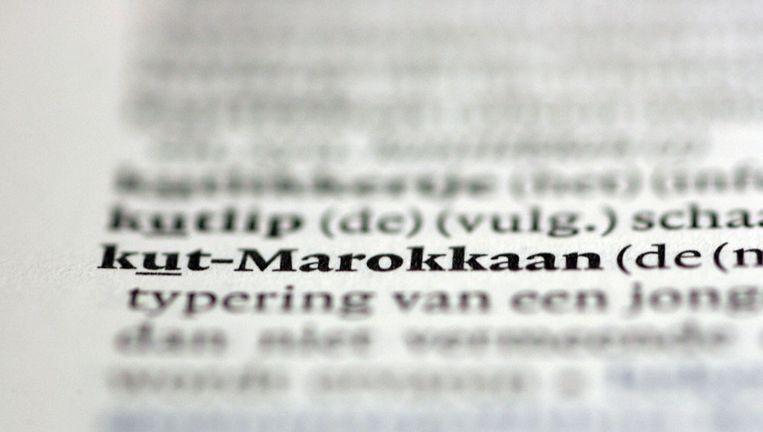 In 2005 maakte onder andere kut-Marokkaan zijn opwachting in de woordenlijst. Beeld anp