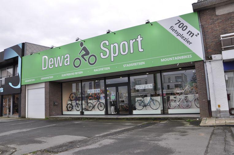 Dewa Sport in Deinze werd geviseerd door inbrekers.