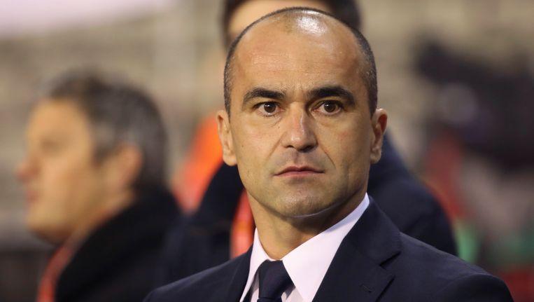 Roberto Martínez was ook van de partij. Beeld AP