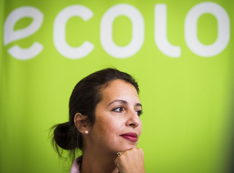 Ecolo-voorzitter Zakia Khattabi.