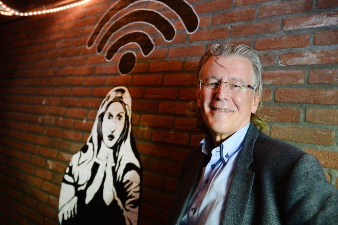Oud-Enschedeër Cees Links, uitvinder van wifi.