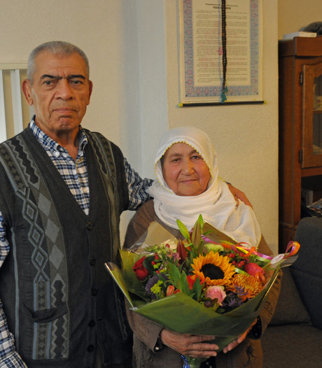Abdullah en Kezban uit Waalwijk vieren voor de 60ste keer hun trouwdag