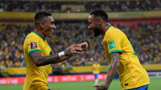Brazilië met invaller Antony ruim langs Suárez en consorten, Messi kwaad op scheidsrechter na zege