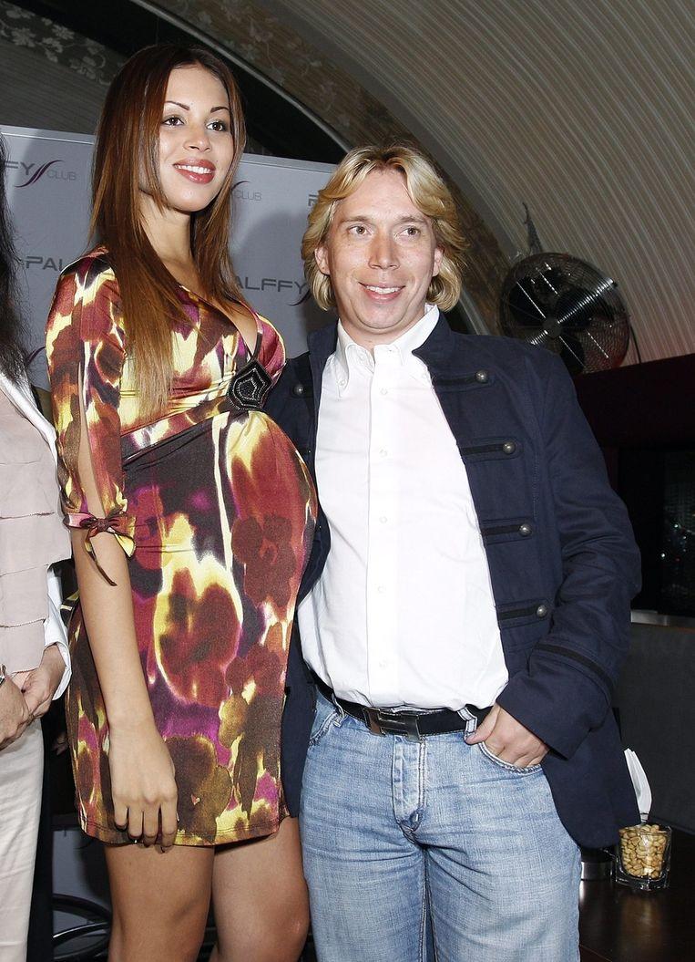Zwangere Ruby en haar manager, in september in Wenen. © EPA Beeld