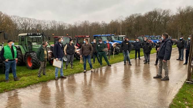 """Boeren protesteren tegen plannen voor nationaal park rond Turnhout: """"Schrik om onze grond kwijt te raken"""""""