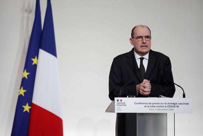 Franse premier Jean Castex
