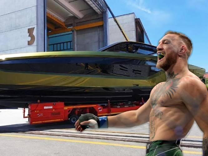 Conor McGregor gaat uniek jacht van Lamborghini oppikken en broedt alweer op wild plan