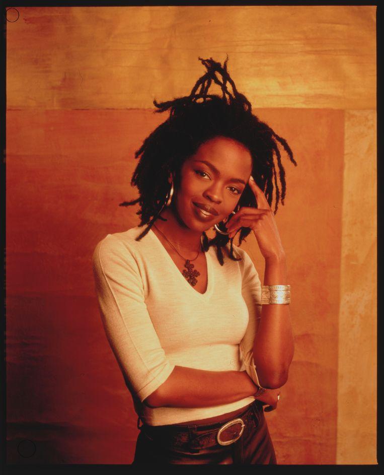 Lauryn Hill in 1998, ten tijde van 'The Miseducation of Lauryn Hill'. Beeld Corbis via Getty Images
