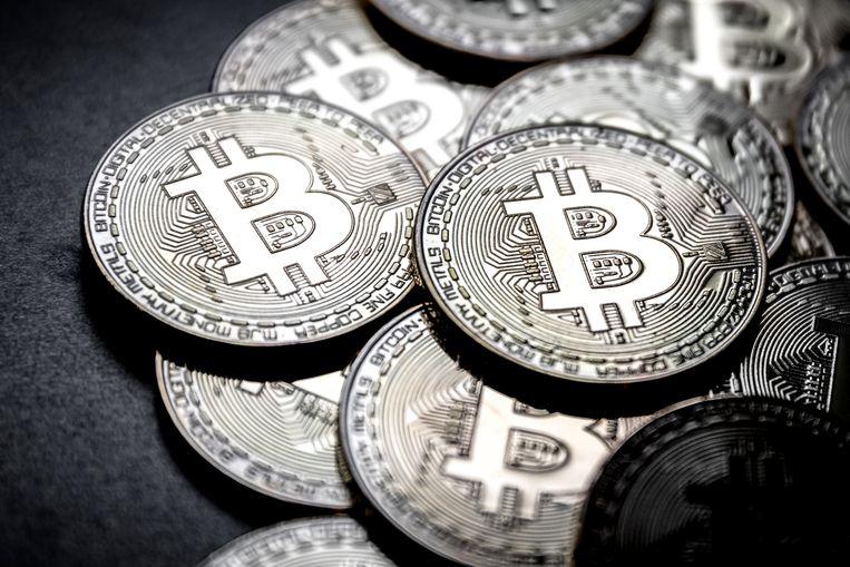 De bitcoin is de afgelopen dagen weer flink in waarde gestegen.  Beeld ANP XTRA