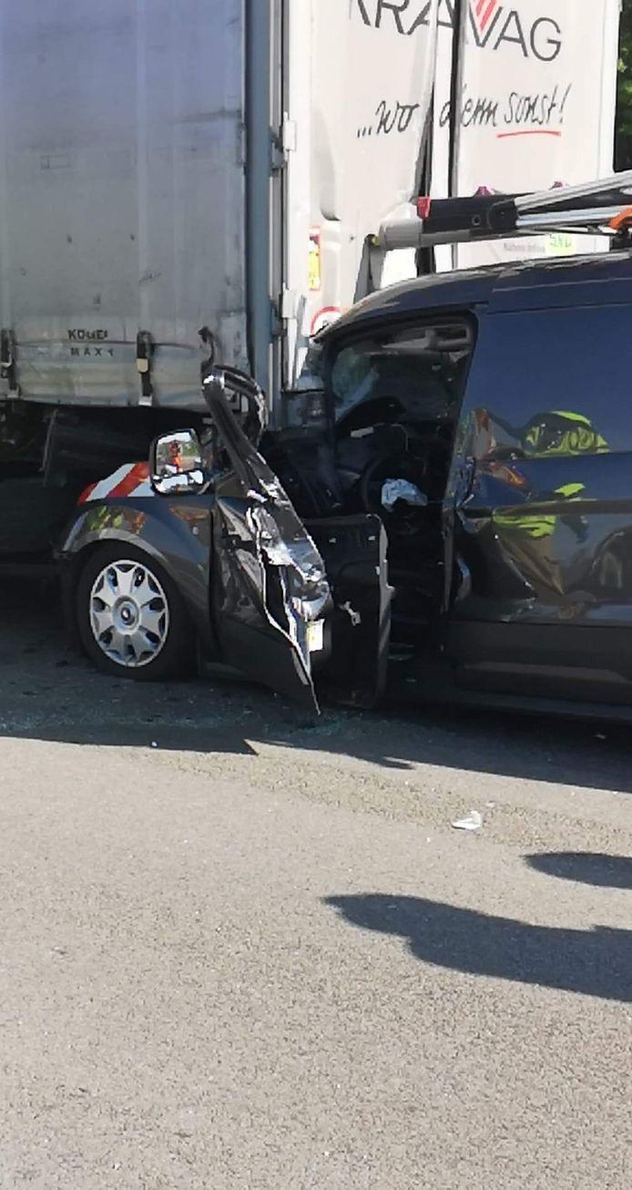 Het ongeval op de E313