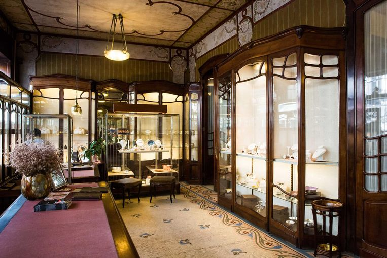 Juwelier Ruys in de Sint-Jorispoort, Antwerpen. Beeld Bas Bogaerts