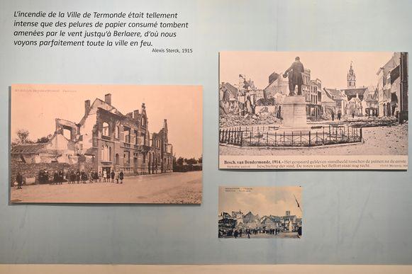Ook de verwoestingen van de stad worden nog eens in beeld gebracht.