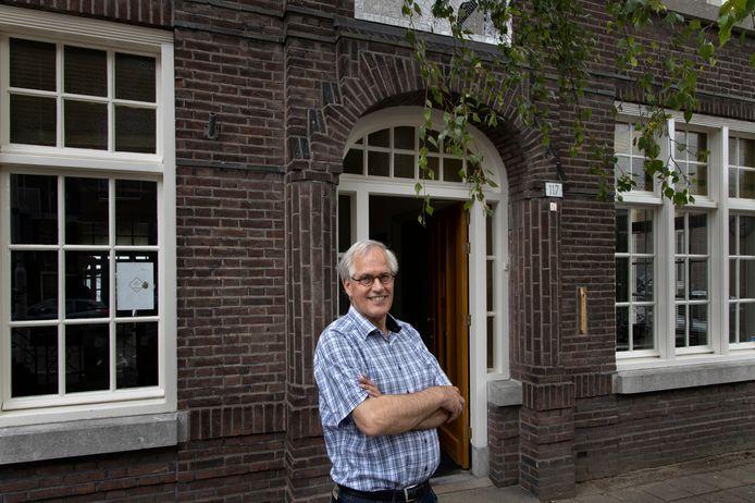 Alef Schippers, voorzitter van Diaconaal Inloophuis 't Hemeltje in Eindhoven.
