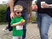 Peuters en baby's stelen de show tijdens de Tilburg Ten Miles Sterre Minirun