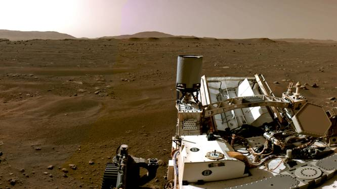 NASA deelt eerste 360°-panoramafoto in hoge kwaliteit vanop Mars