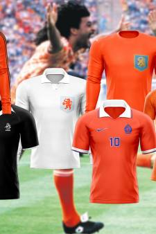Stem nu op het mooiste shirt van Oranje, meningen van 'kenners' lopen uiteen