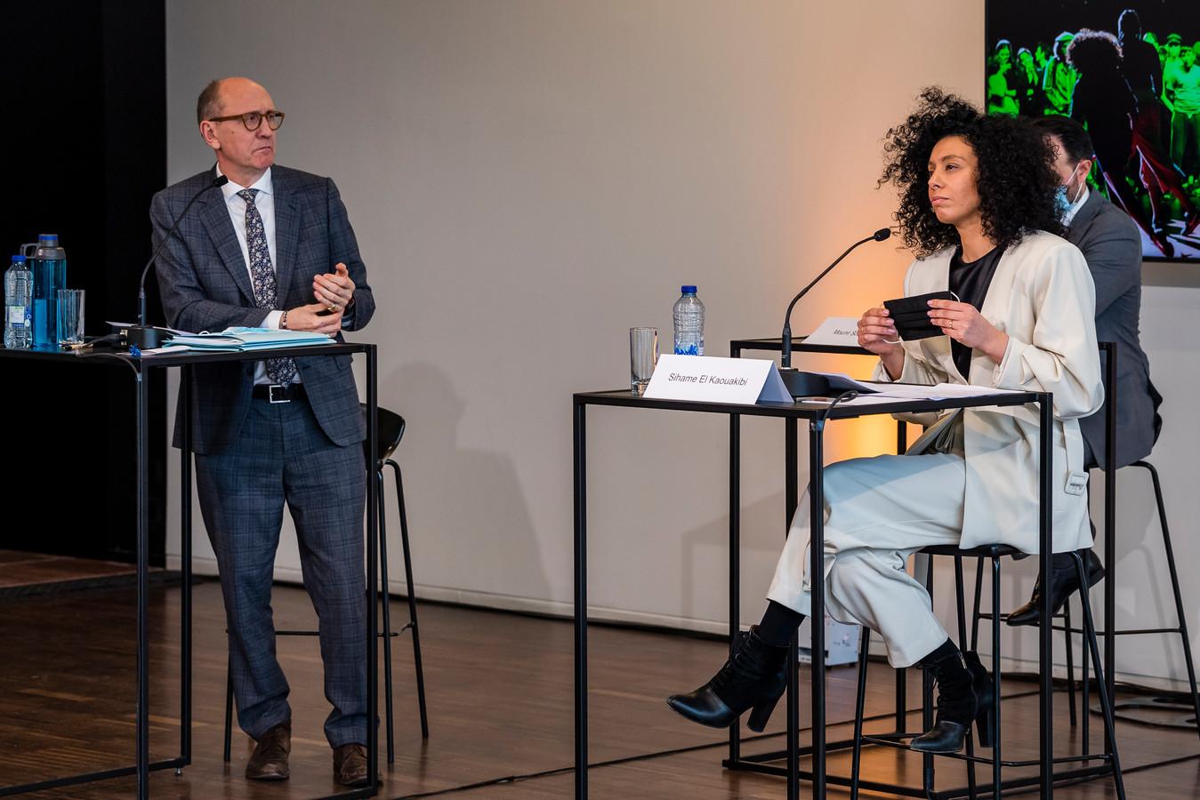 Johan Vande Lanotte gaf op 22 februari al een keer uitleg bij zijn onderzoek naar de geldstromen bij Let's Go Urban.