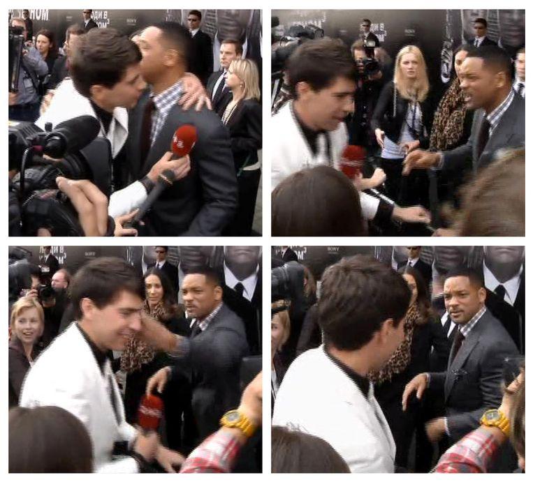 Sediuk werd door acteur Will Smith in zijn gezicht geslagen. Beeld null