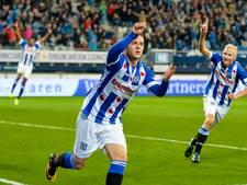 Debutant redt in slotseconde punt voor Heerenveen