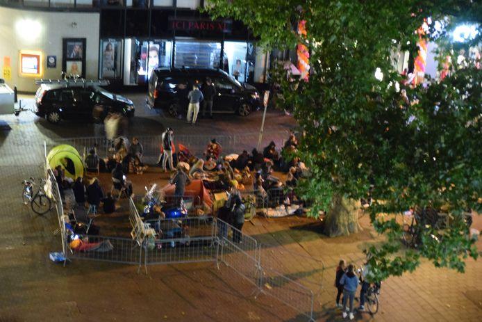 Tentenkamp in Utrecht