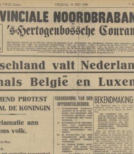 Het uitbreken van de oorlog of staking op de drukkerij: op deze momenten ging het mis bij het verschijnen van de krant