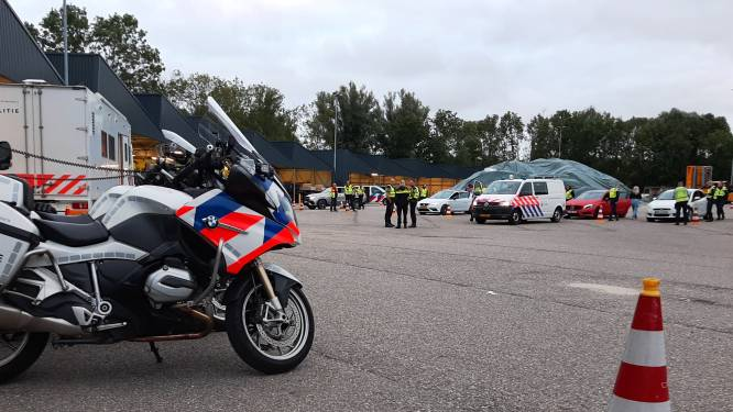 Zo'n duizend automobilisten geflitst tijdens massale politieactie rond het knooppunt Gorinchem