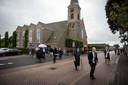 In Staphorst kwamen zeshonderd kerkgangers bijeen in de Hersteld Hervormde Kerk.