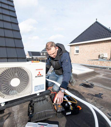 Wachtlijsten in Twente voor airco's, zelfs toen het -15 was: 'Voor ons is dit uniek'