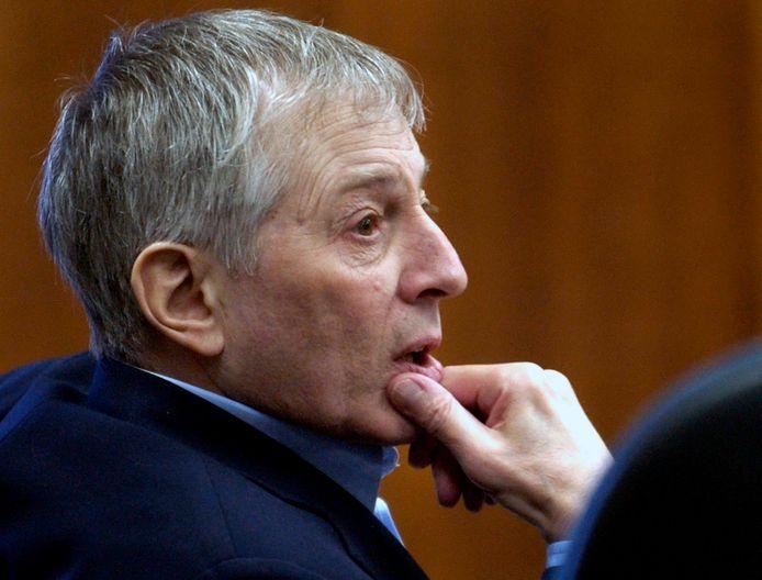 Robert Durst in de rechtszaal in 2003.