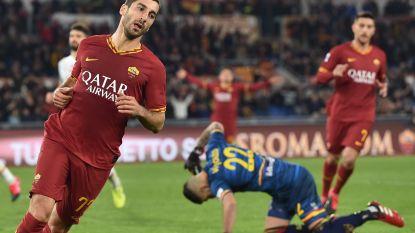 Roma met verlossende zege in Serie A